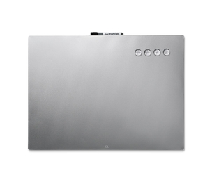 "ACCO Brands Corporation 79245 Multi-functional Board, 17""x23"", Stainless Steel by Quartet"