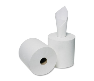 "National Industries For the Blind 8540015909069 Paper Towel, Center-Pull, 2-Ply, 8-1/4""x600', 6RL/BX, WE by SKILCRAFT"