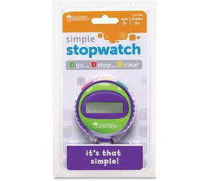LEARNING RESOURCES/ED.INSIGHTS LER0808 Simple Stopwatch by Learning Resources