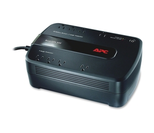 American Power Conversion Corp BE650G1 Back-UPS 650, w/ USB, 120V, 390W, 8 Outlets, Black by APC