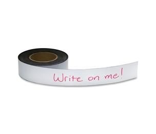 "BAUMGARTENS 66152 Magnetic Labeling Tape, 2""x50' Roll, White by Baumgartens"