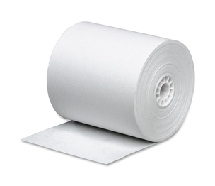 """Business Source 31820 Paper Rolls, Single Ply, 2-1/4""""x150', Bond, 3/PK, WE by Business Source"""