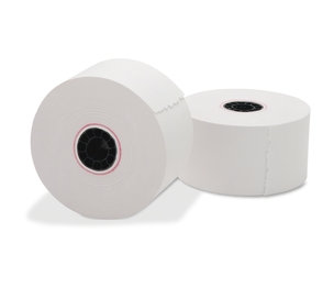 "Business Source 31825 Paper Roll, Single Ply, Bond, 1-15/32""x150', 10/PK, White by Business Source"