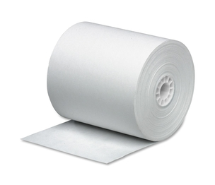 "Business Source 31827 Paper Roll, Single Ply, Bond, 3""x165', 12/PK, White by Business Source"