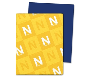 "Neenah Paper, Inc 21911 Card Stock Paper, 65lb., 8-1/2""x11"", Blast Off Blue by Astrobrights"