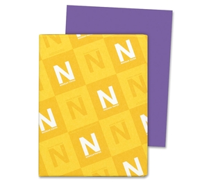 "Neenah Paper, Inc 21961 Astrobright Paper, 24Lb, 8-1/2""x11"", 500/PK, Gravity Grape by Astrobrights"