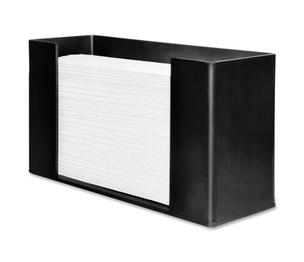 """Genuine Joe 11524 Paper Towel Dispenser, 11-1/2""""x4-1/8""""x6-3/4"""", Black by Genuine Joe"""
