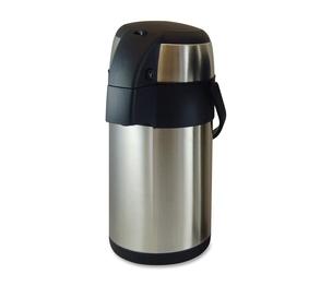Genuine Joe 11960 Vacuum Pump Pot, 2.5L., Stainless Steel by Genuine Joe