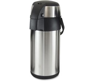 Genuine Joe 11961 Vacuum Pump Pot, 3.0L, Stainless Steel by Genuine Joe