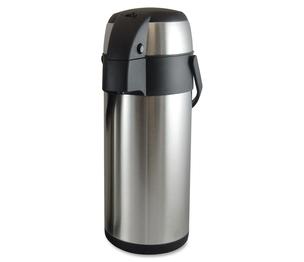 Genuine Joe 11962 Vacuum Pump Pot, 3.5L., Stainless Steel by Genuine Joe