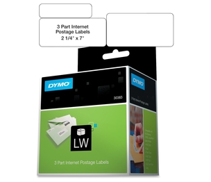 "Newell Rubbermaid, Inc 30383 Shipping/PC Postage Label,3 Part,7""x2-1/4"",150 Labels/RL,WE by Dymo"