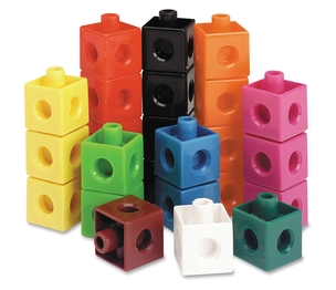 LEARNING RESOURCES/ED.INSIGHTS LER7584 Learning Resources Snap Cubes - 100 Pack by Learning Resources