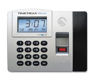 Pyramid Time Systems TTELITEEK Time/Clock System, Biometric, Backup Memory, Grey/Black by Pyramid Time Systems