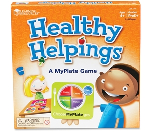 LEARNING RESOURCES/ED.INSIGHTS LER2395 Healthy Helpings MyPlate Game by Learning Resources