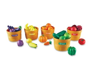 LEARNING RESOURCES/ED.INSIGHTS LER3060 Farmers Market Color Sorting Set by Learning Resources