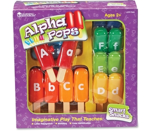LEARNING RESOURCES/ED.INSIGHTS LER7345 Smart Snacks Alpha Pops by Smart Snacks