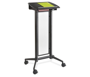 """Safco Products 8912BL Impromptu Lectern, 26-1/2""""x18-3/4""""x46-1/2"""", Black by Safco"""
