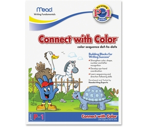 ACCO Brands Corporation 48038 Mead Writing Fundamentals Tablet, Connect with Color, 10 1/2 x 8, 22 Sheets per Pad by Acco