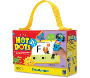 EDUCATIONAL INSIGHTS 2351 Educational Insights Hot DotsJr. Card Sets, Alphabet by Hot Dots