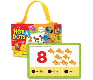 EDUCATIONAL INSIGHTS 2353 Educational Insights Hot DotsJr. Card Sets, Numbers by Hot Dots