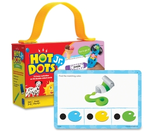 EDUCATIONAL INSIGHTS 2354 Educational Insights Hot DotsJr. Card Sets, Colors by Hot Dots