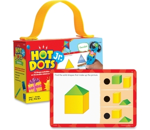 EDUCATIONAL INSIGHTS 2355 Educational Insights Hot DotsJr. Card Sets, Shapes by Educational Insights