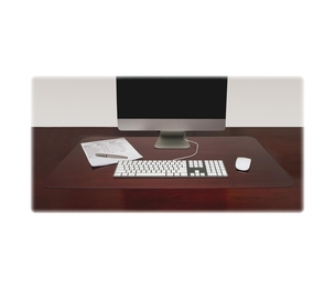 "Lorell Furniture 39650 Desk Pad, Rectangular, Non-glare, 36""x20"", Clear by Lorell"