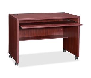"Lorell Furniture 48085 Computer Workstation, 41-3/8""x23-5/8""x29-1/2"", Mahogany by Lorell"