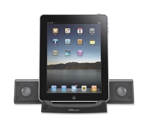 Compucessory 51546 Universal Tablet Sound System, 4-Watt, Black by Compucessory