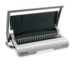 "Fellowes, Inc 5006501 Binding Machine, 3/4"" Comb, 150Sht Cap, Silver by Fellowes"