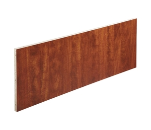 "Lorell Furniture 69937 4' Top Modesty Panel, 19""x45-1/4""x15-3/4"", Cherry by Lorell"