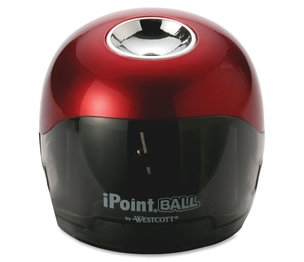 """ACME UNITED CORPORATION 15570 Battery Pencil Sharpener, 3""""x3""""x3-1/2"""", Red/Black by Westcott"""