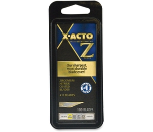 X-Acto XZ611 Replacement Blades, Fine Point, No. 11, 100/PK, GD by X-Acto