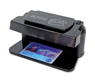 "MMF INDUSTRIES 200SM Counterfeit Detector, Versatile, 6-1/2""x4""x3"", Black by MMF"
