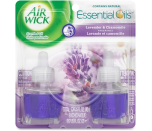Reckitt Benckiser plc 78473 Scented Oil Refill, Air Wick, 2/PK, Lavender/Chamomille by Airwick