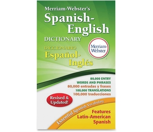 Merriam-Webster, Inc 824 Merriam-Webster's Spanish/English Dictionary, Ast by Merriam-Webster