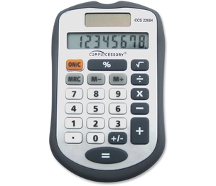 Calculator,8 Dgt,Handheld by Compucessory