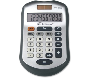 Calculator,10 Dgt,Handheld by Compucessory