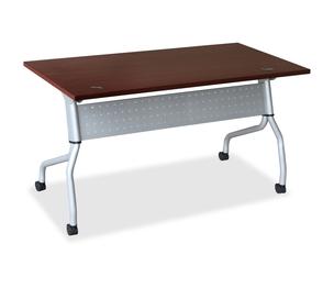 "Lorell Furniture 60717 Training Table, 23-3/5""x60""x29-1/2"", Mahogany by Lorell"