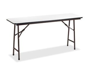 "Lorell Furniture 60728 Folding Banquet Table, 72""x18"", Gray by Lorell"