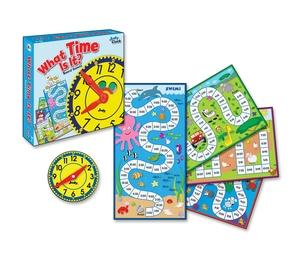 Carson-Dellosa Publishing Co., Inc 140314 Game,What Time Is It,K-2 by Carson-Dellosa