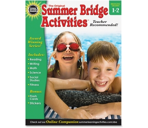 Carson-Dellosa Publishing Co., Inc 904157 Summer Bridge Act Gr 1-2 by Summer Bridge