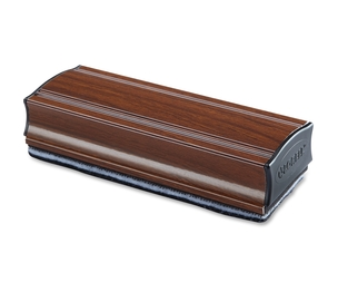 Lorell Furniture 59266 Magnetic Aluminum Eraser, Mahogany by Lorell