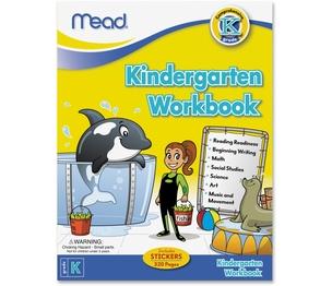 ACCO Brands Corporation 48082 Workbk Kindergarten by Mead