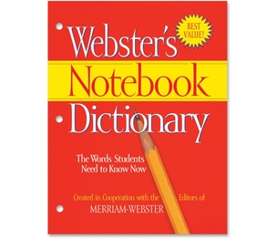 Merriam-Webster, Inc FSP0566 Dictionary,Notebook,Webster by Merriam-Webster