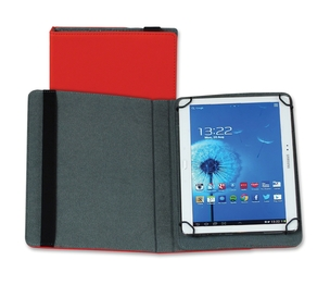"SAMSILL CORPORATION 35020 Case,Tablet,Universl,10"",Rd by Samsill"
