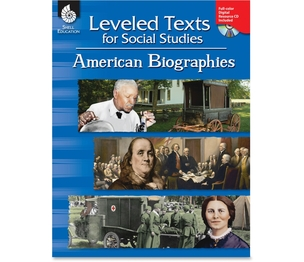 SHELL EDUCATION 50894 Book, Lvld Text Americ Bios by Shell