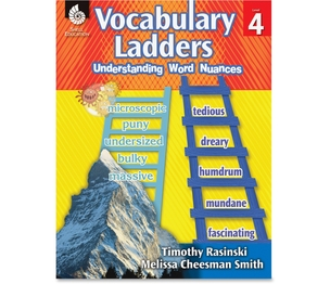 SHELL EDUCATION 51303 Book, Vocab Ladders Level 4 by Shell