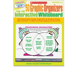 Scholastic 0545207150 Book,50 Grphic Orgr,Whtbd by Scholastic