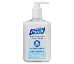 Gojo Industries, Inc 955212 Hand Sanitizer Moisture, Pump Bottle, 8 Oz. by Purell